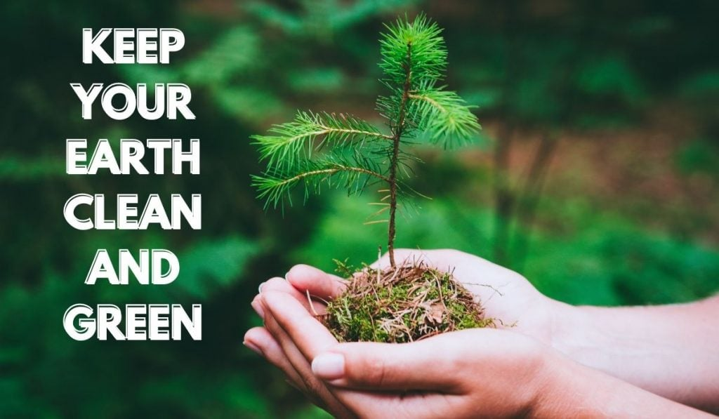 Keep your Earth Clean and Green - Quotes